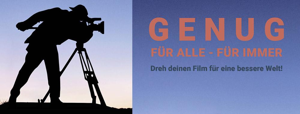 """Bayernweiter Jugendfilmwettbewerb """"Genug für alle – für immer"""" startet"""
