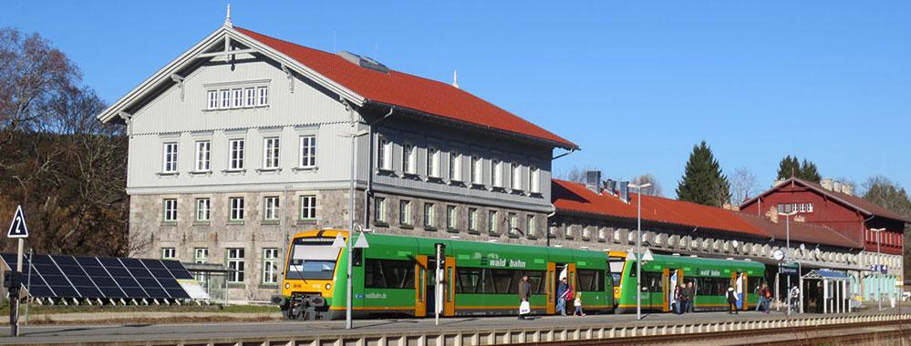 Bahnhof Bayerisch Eisenstein wird 57. Umweltstation
